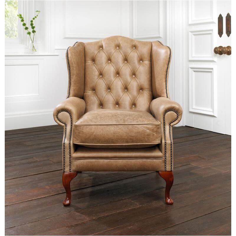 Fauteuil Chesterfield Highclere - Fauteuil chesterfield cuir