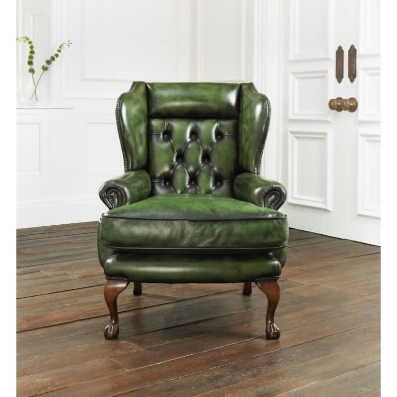 distinctive chesterfields fauteuil chesterfield osborne. Black Bedroom Furniture Sets. Home Design Ideas