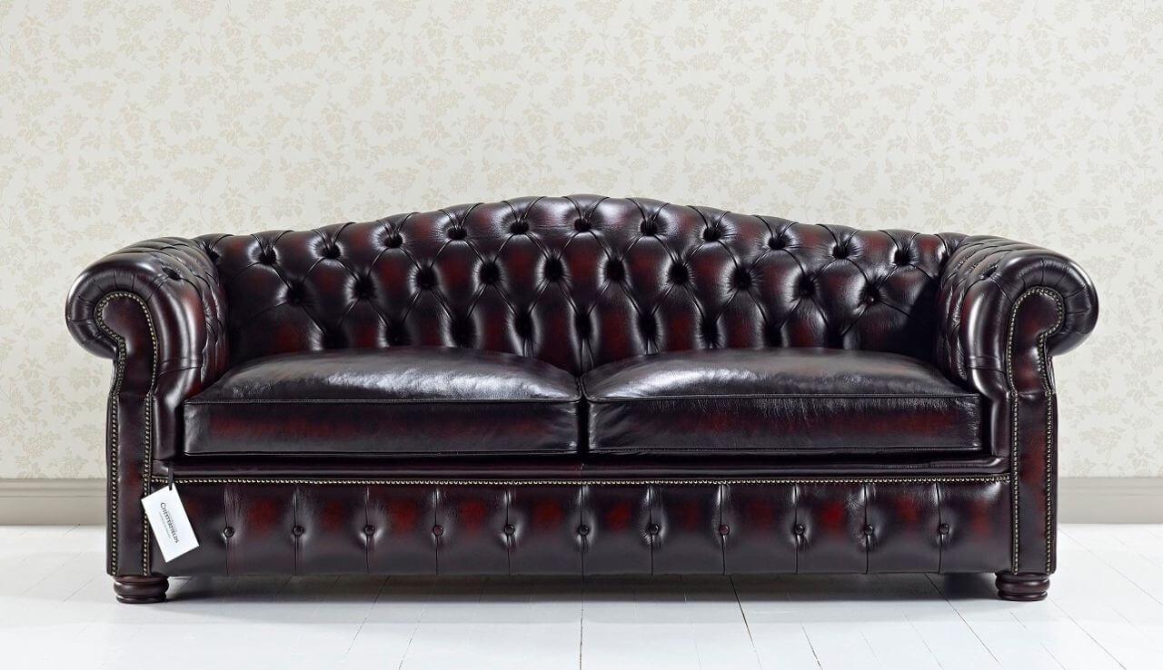 Canapé Chesterfield Convertible , Canapé Lit de style anglais, Lit ...
