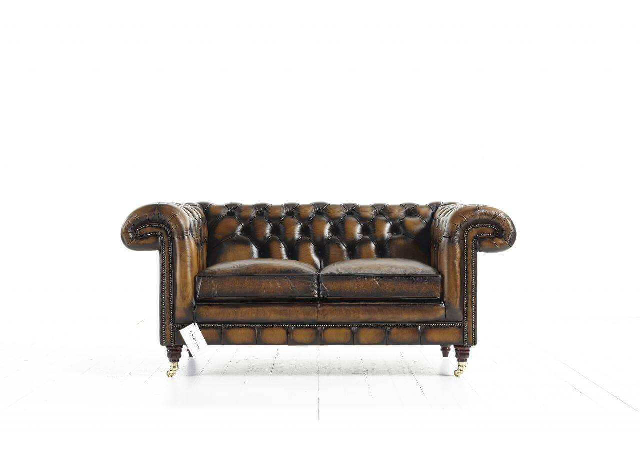 Canapé Chesterfield 2 places Chatsworth
