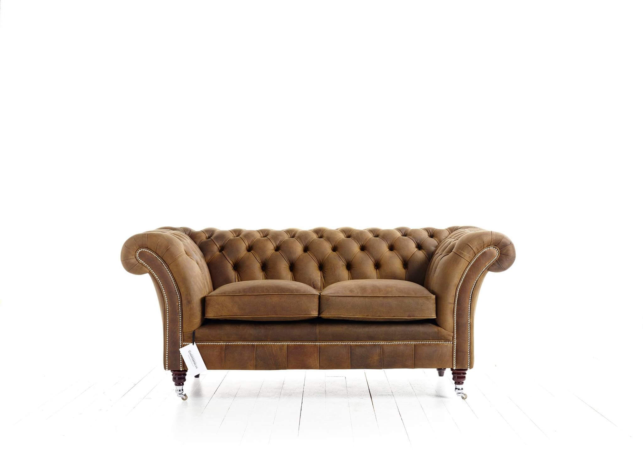 Canapé Chesterfield Marron Drummond