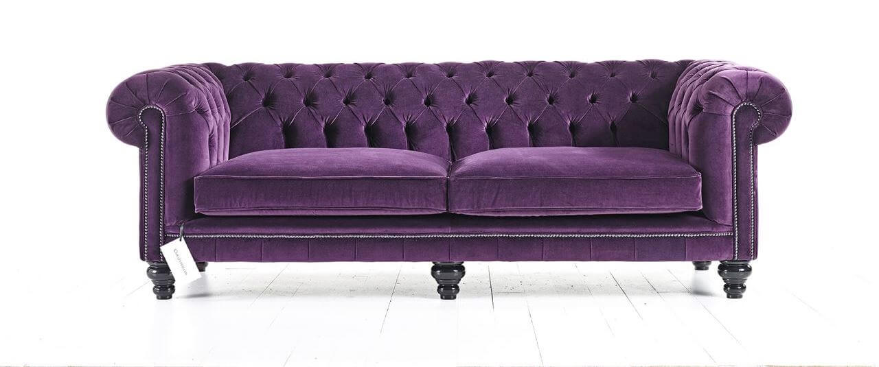 Distinctive chesterfields france canap s et fauteuils en for Canape chesterfield en velours